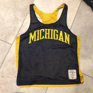 Michigan reversible athletic top